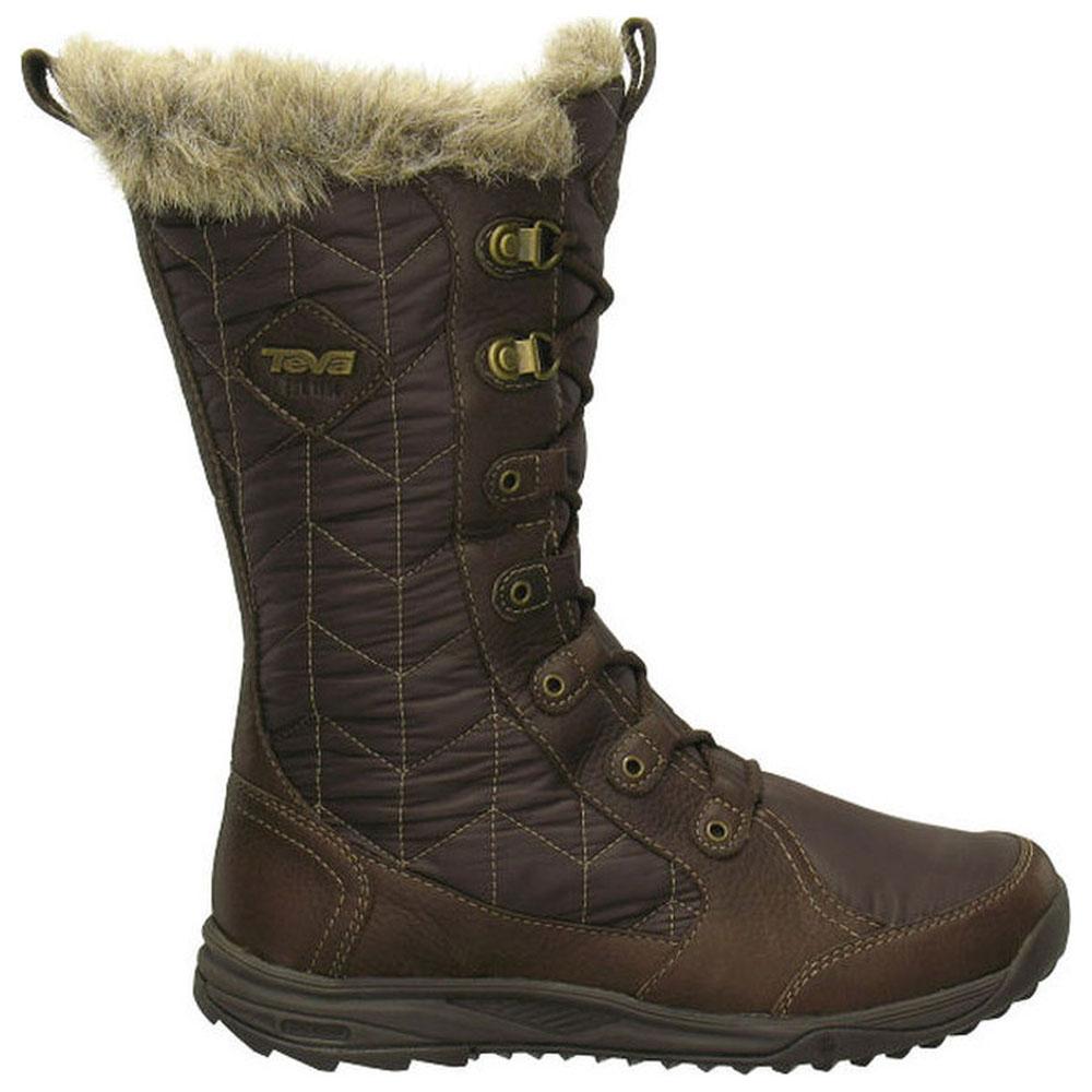 Womens Lenawee Waterproof Boot (Brown)