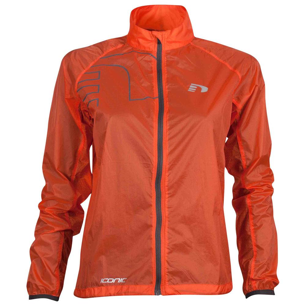 Womens Iconic Feather Jacket (Orange)
