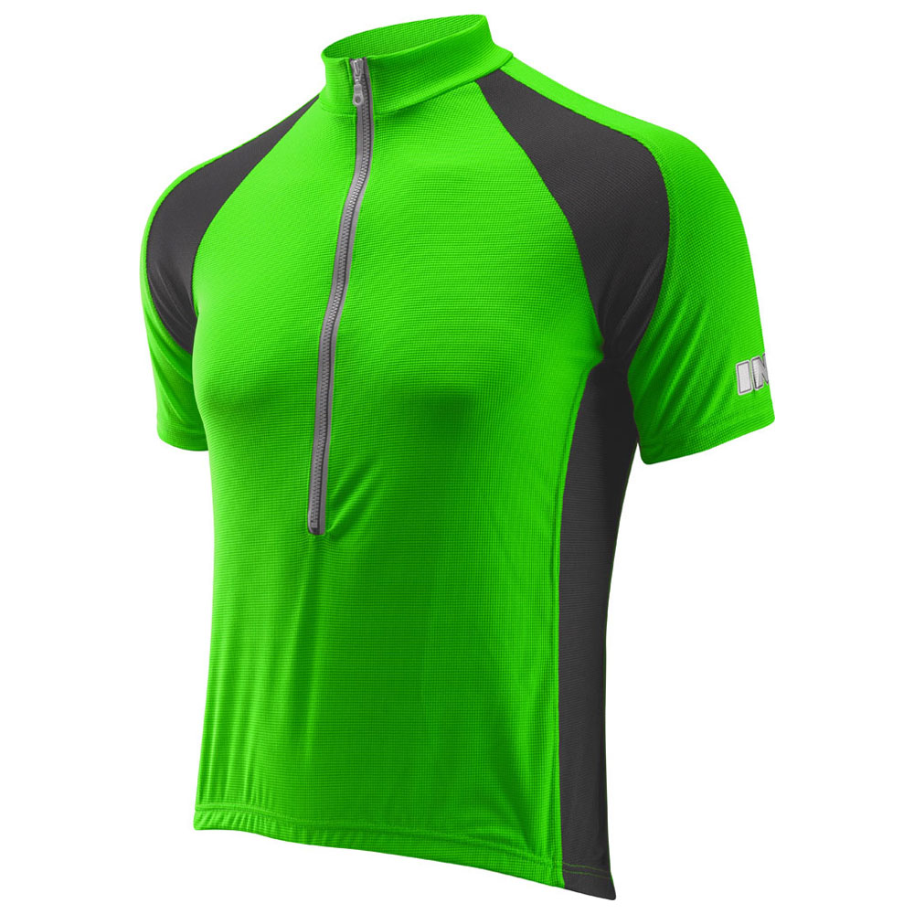 Mens Life Plus Short Sleeve Jersey (Green)