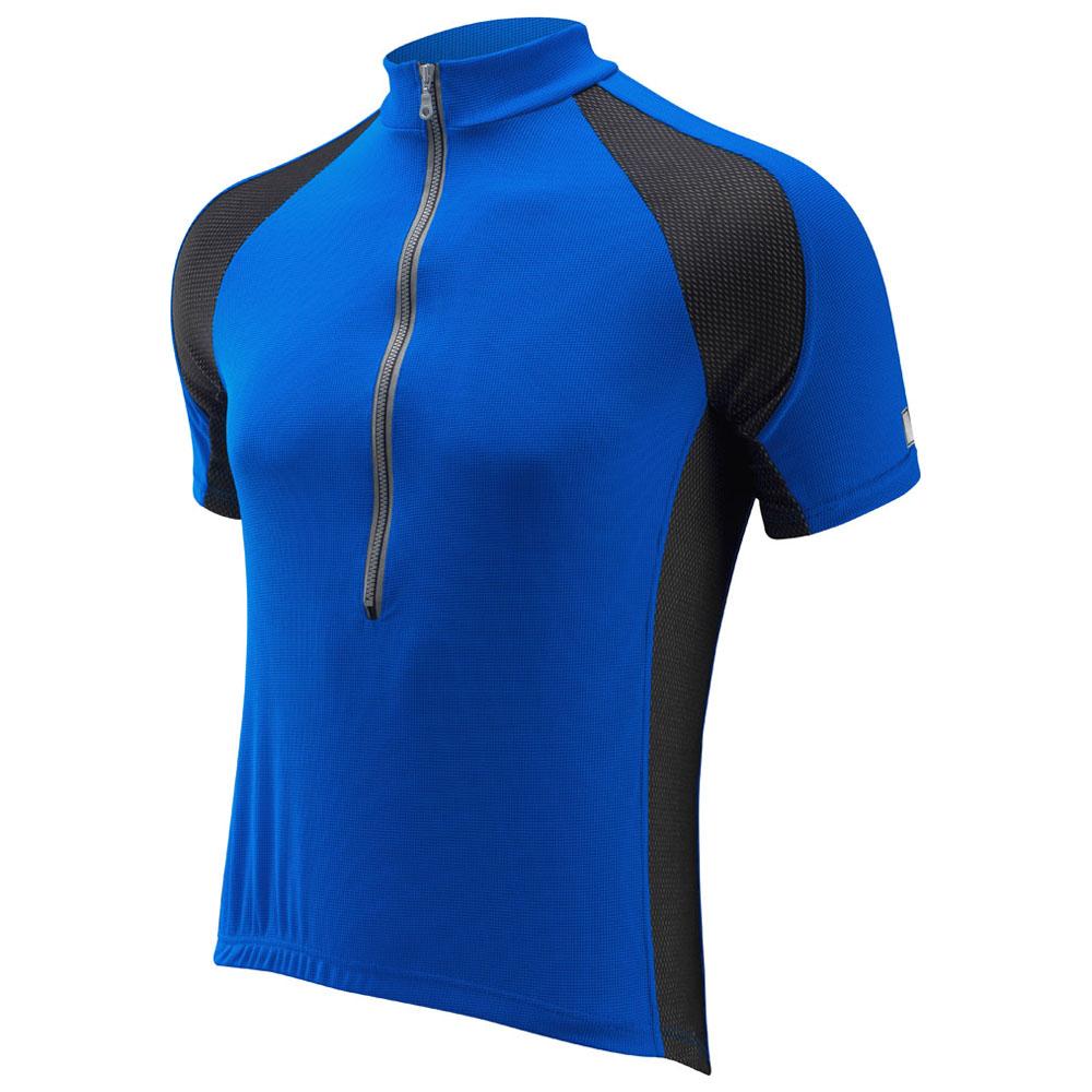 Mens Life Plus Short Sleeve Jersey (Blue)