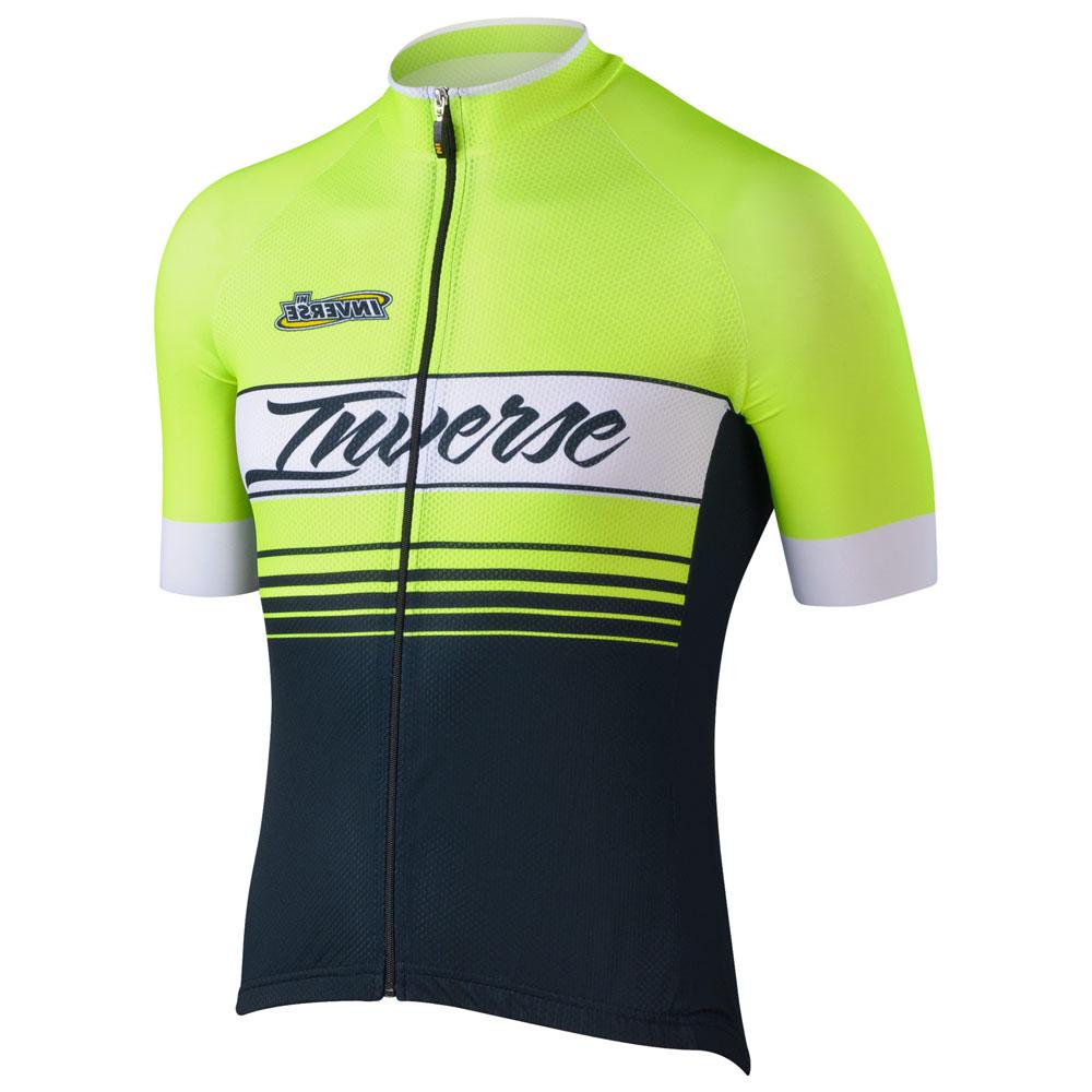 Mens Aero Short Sleeve Jersey (Yellow)