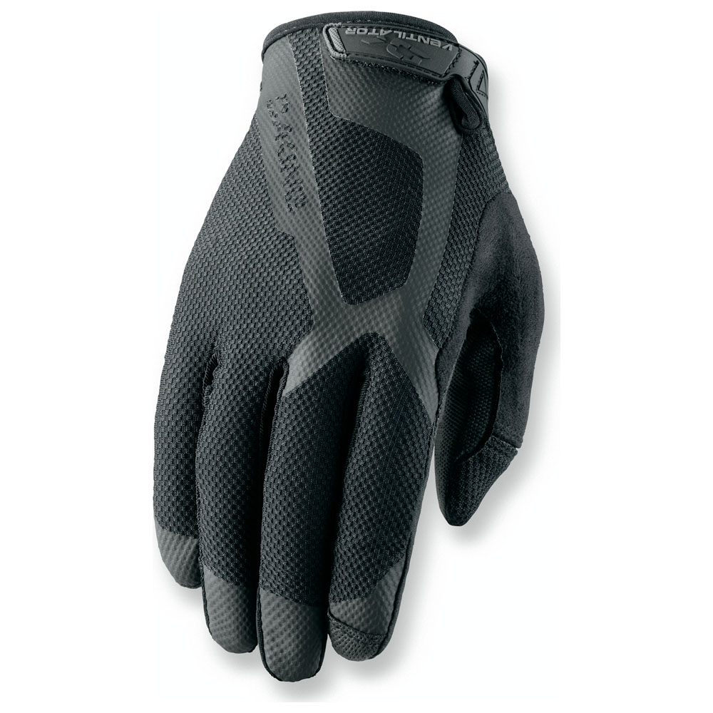 Mens Ventilator Gloves (Black)