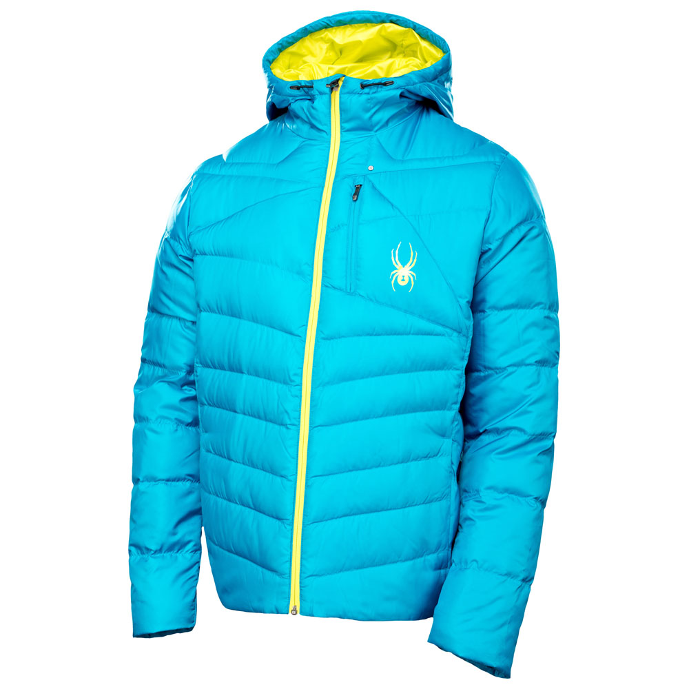 Mens Dolomite Hoody Down Jacket (Electric Blue)