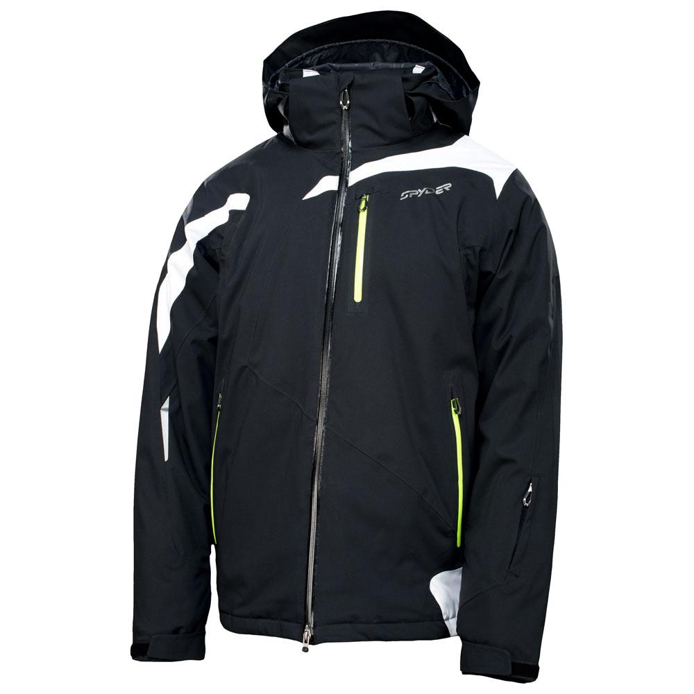 Mens Rival Jacket (Black/White)