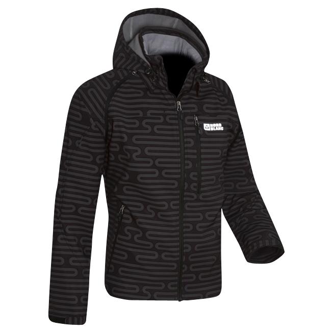 Mens 2-In-1 Membrane Softshell Stretch Jacket (Black/Grey)