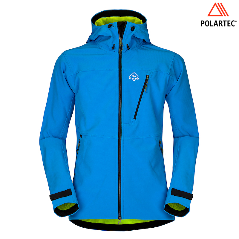 Mens Volcano Tech Jacket (Blue)