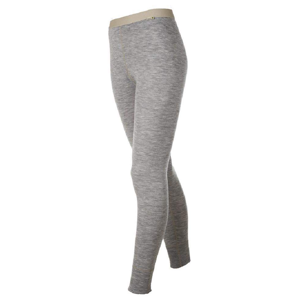 Womens Designwool Long Johns (Grey Melange)