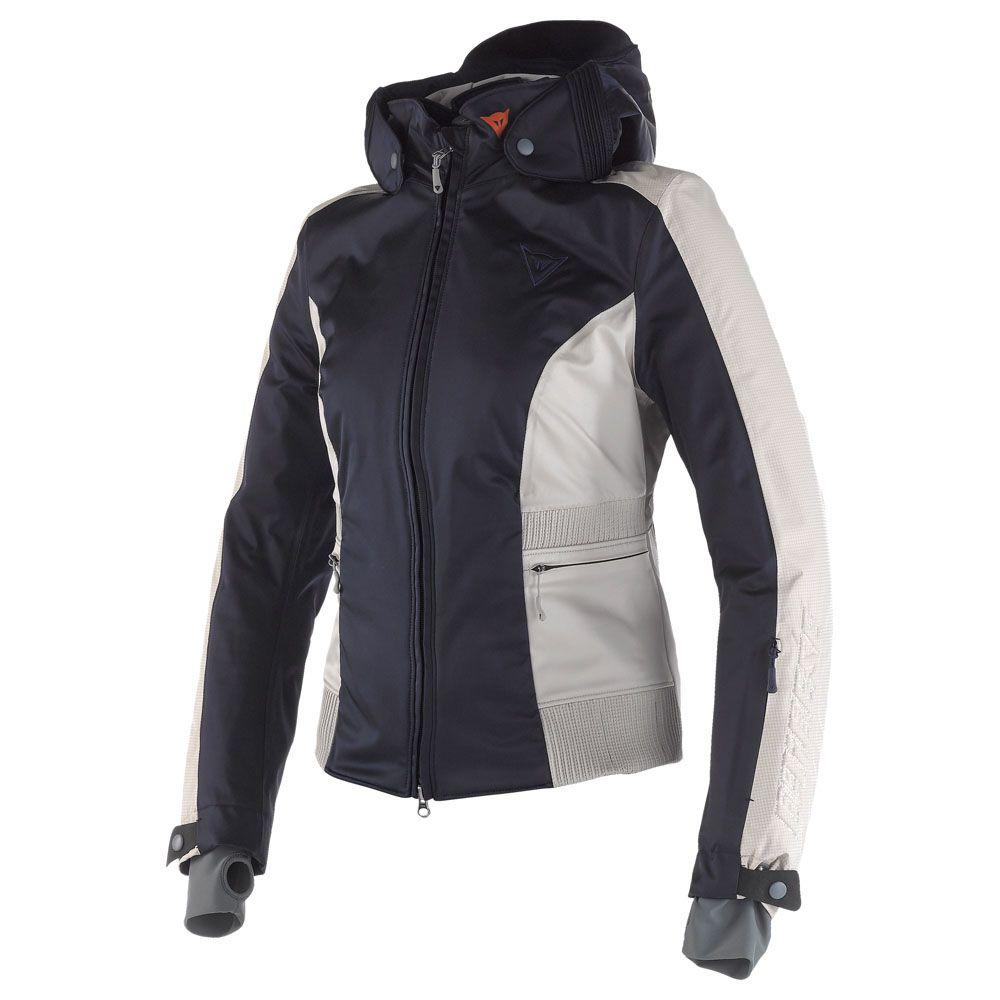 Womens Calgary Evo Jacket (Dark-Blue)