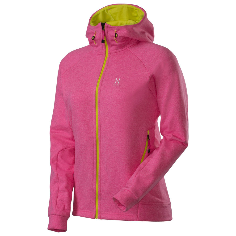 Womens Helix II Q Hooded Jacket (Astral Pink)