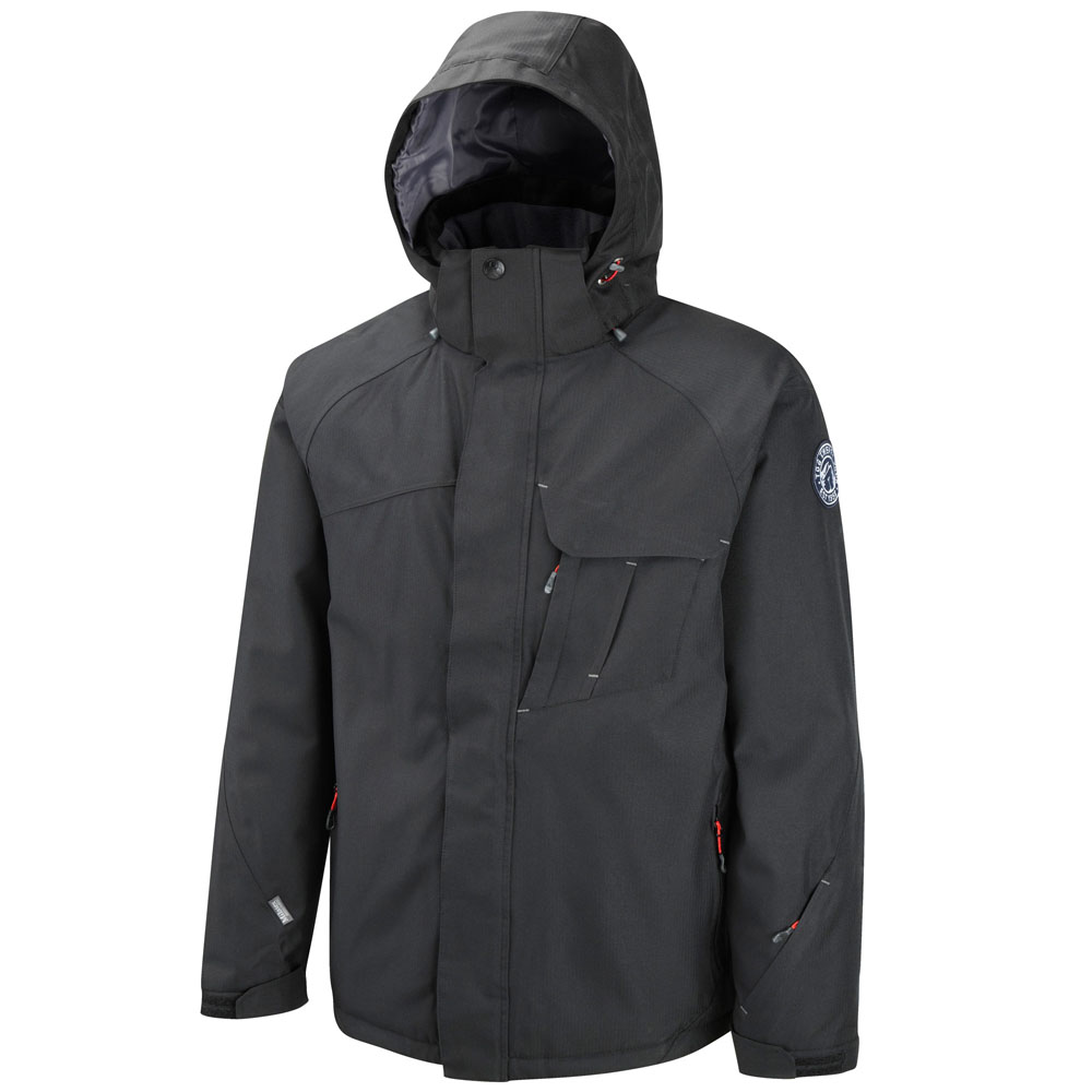 Mens Adder Milatex Ski Jacket (Black)