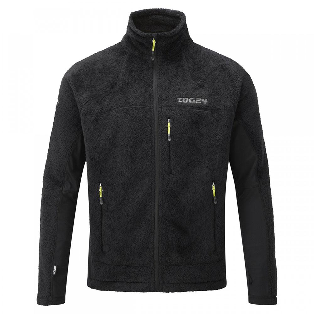 Mens Disc Fleece Jacket (Black)
