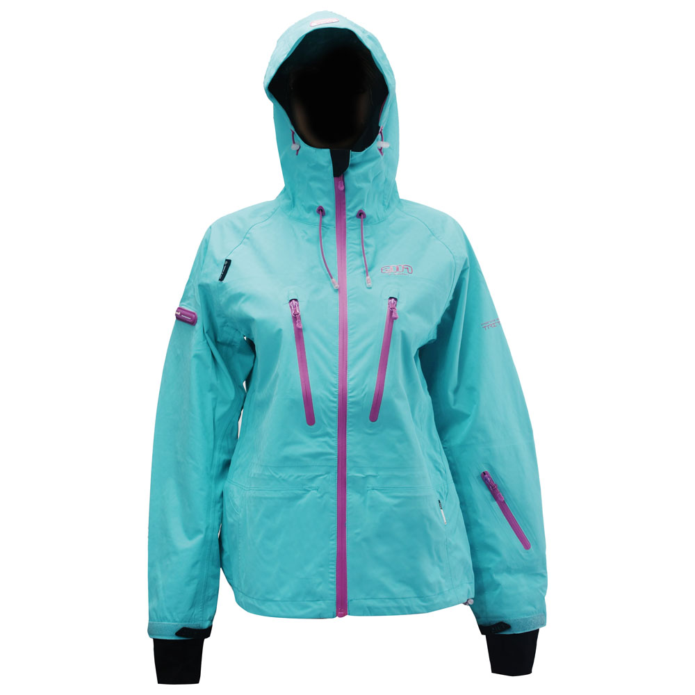 Womens Storsylen ECO 3L Ski Jacket (Turquoise)