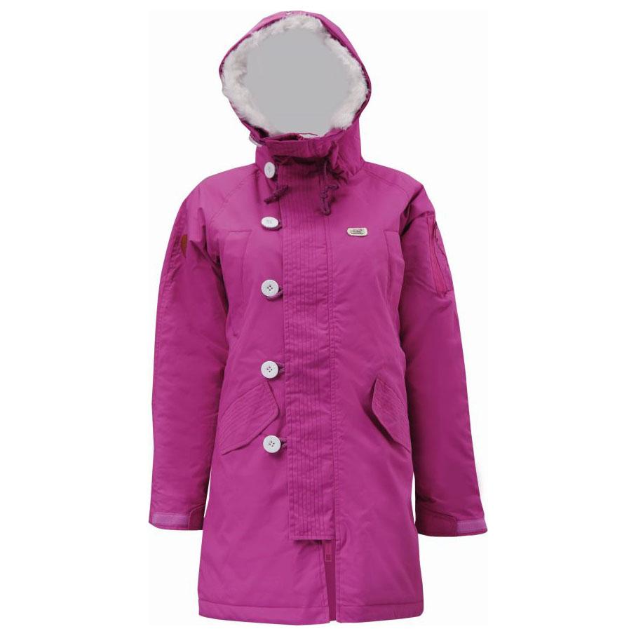 Womens Kvanum Padded Street Jacket (Violet)