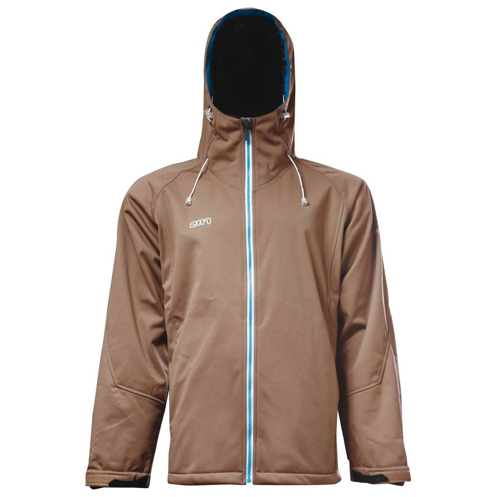 Mens Bollebygd Inside Fleece Softshell Jacket (Sand)