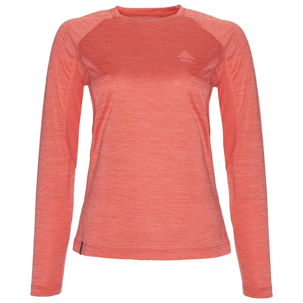 Womens Sangha Long Sleeve Top (Deep Sea Coral)