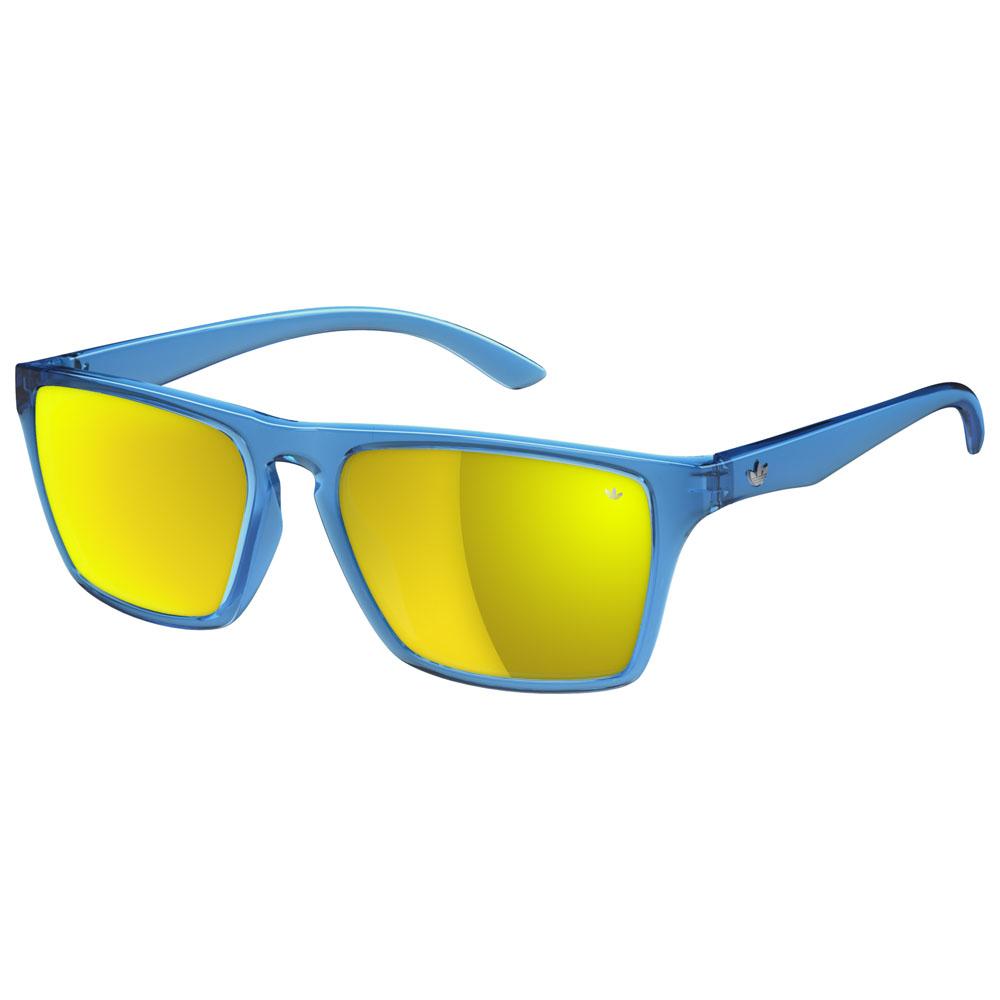 Melbourne Sunglasses (Blue/Gold Lens)