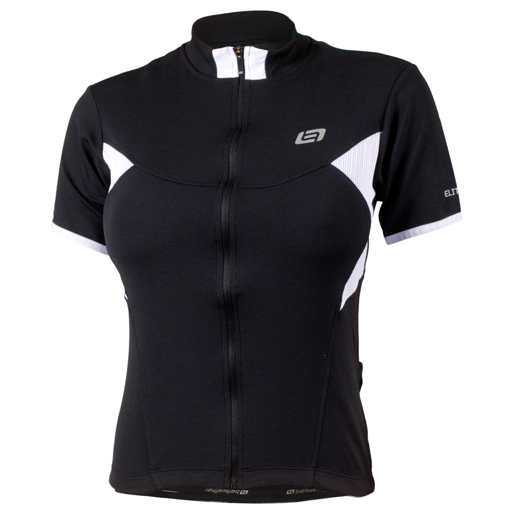 Womens Celina Short Sleeve Jersey (Black)