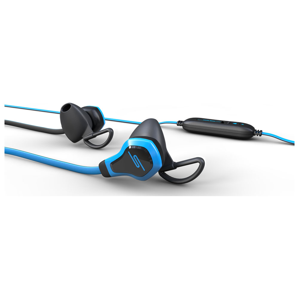 BioSport Earbud HRM Headphones (Black/Grey)
