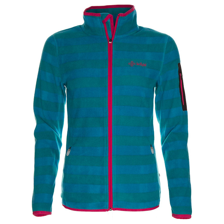Womens Velia 300 Soft Hairy Fleece (Turquoise)