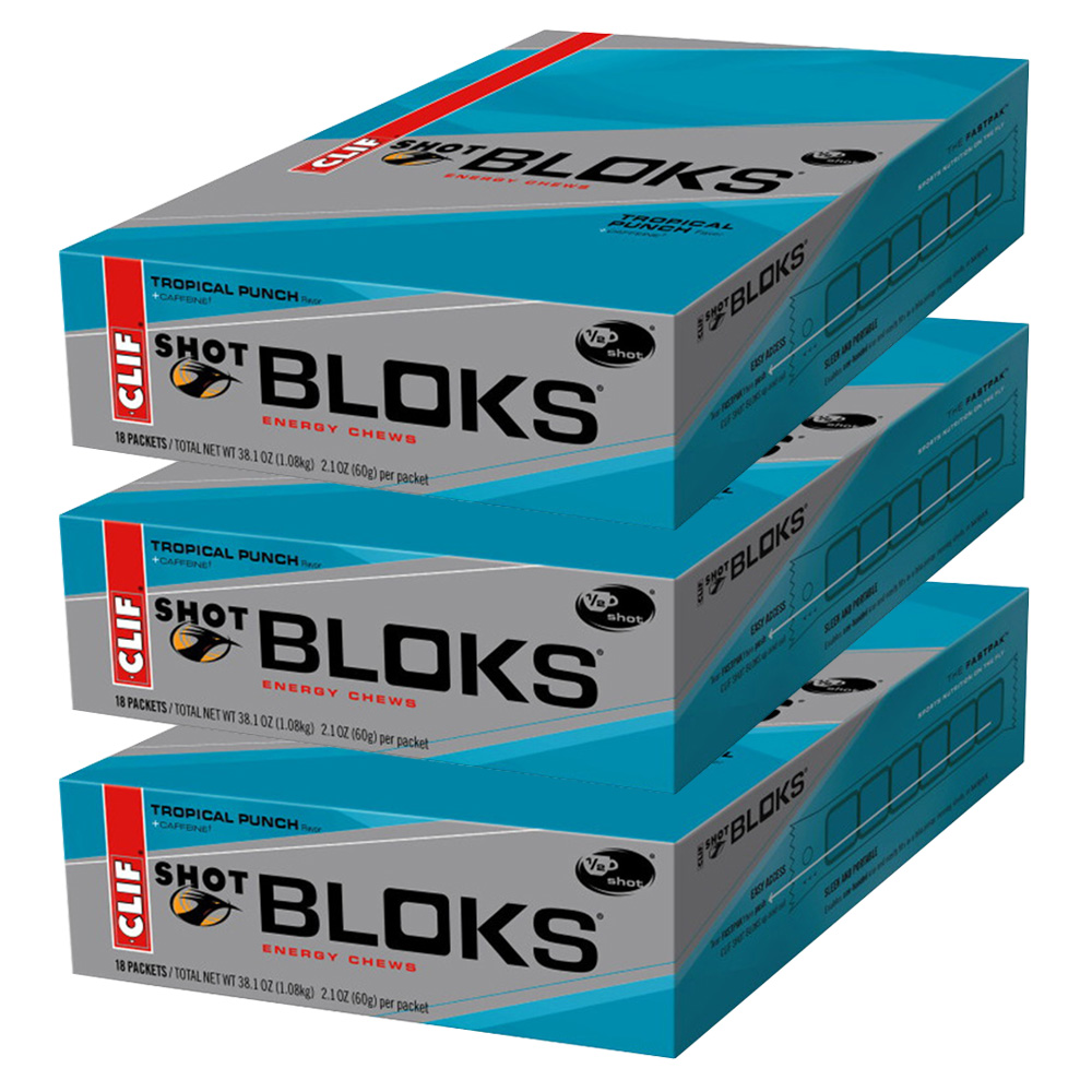Shot Bloks (Tropical Punch - 54 x 60g)