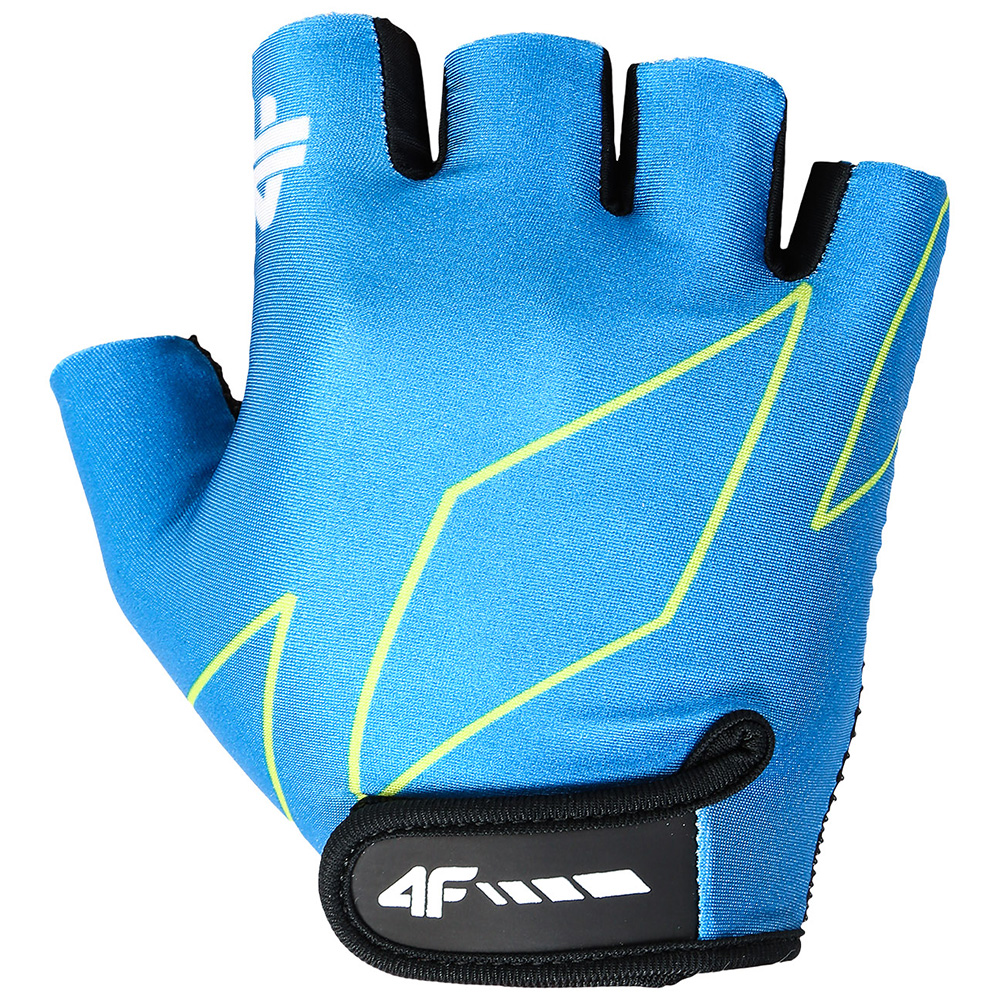 Soft Padded Cycling Gloves (Blue)