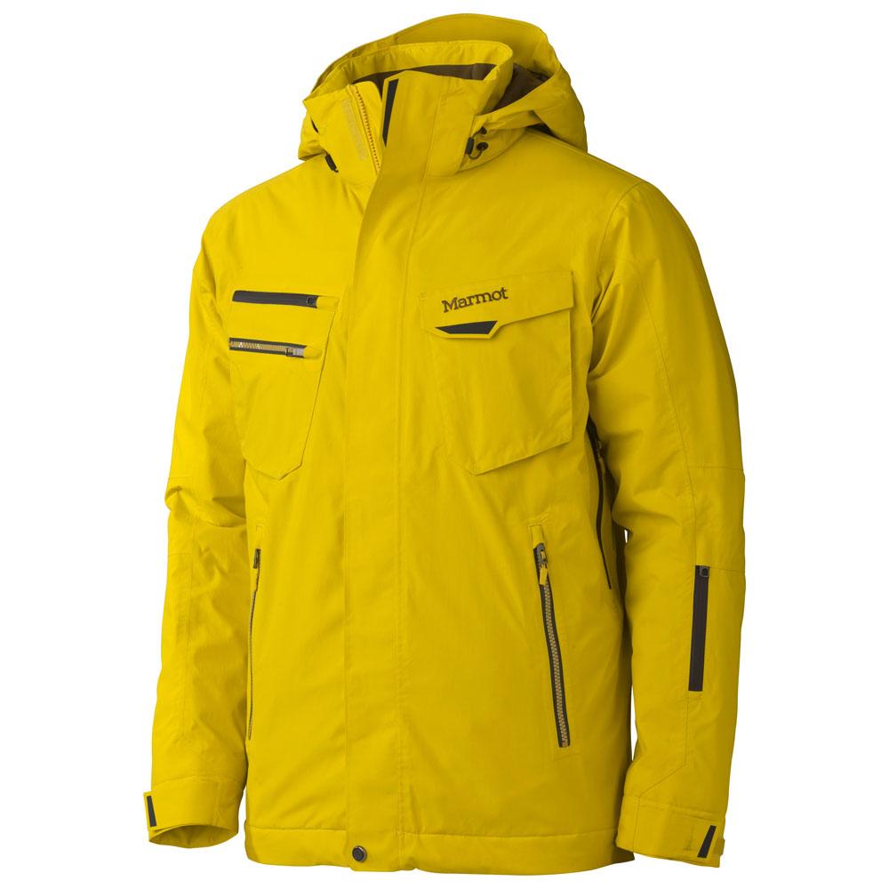 Mens Sky Pilot Jacket (Yellow Vapor)