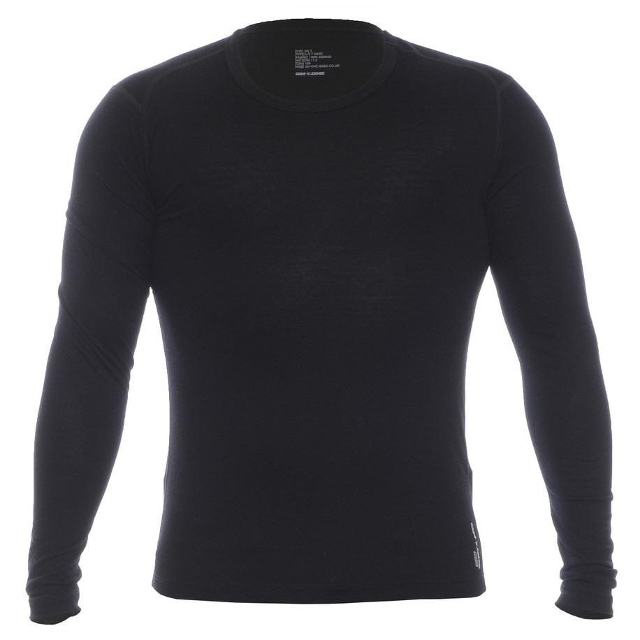 Core 160 Merino Long Sleeve Top (Black)