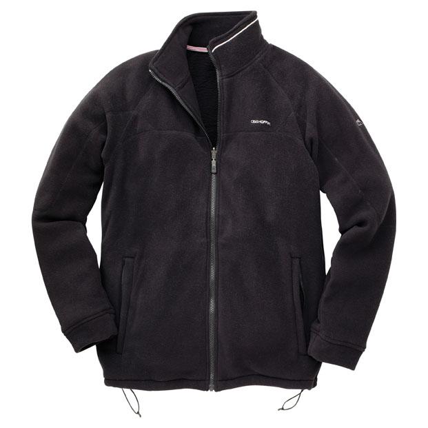 Mens Basecamp 200 InterActive Fleece Jacket (Black)