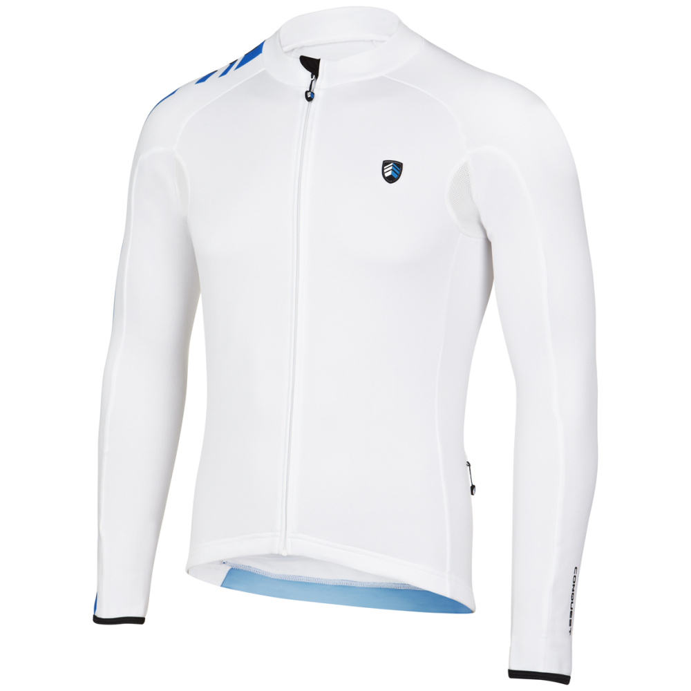 Mens Core 1 Long Sleeve Jersey (White)