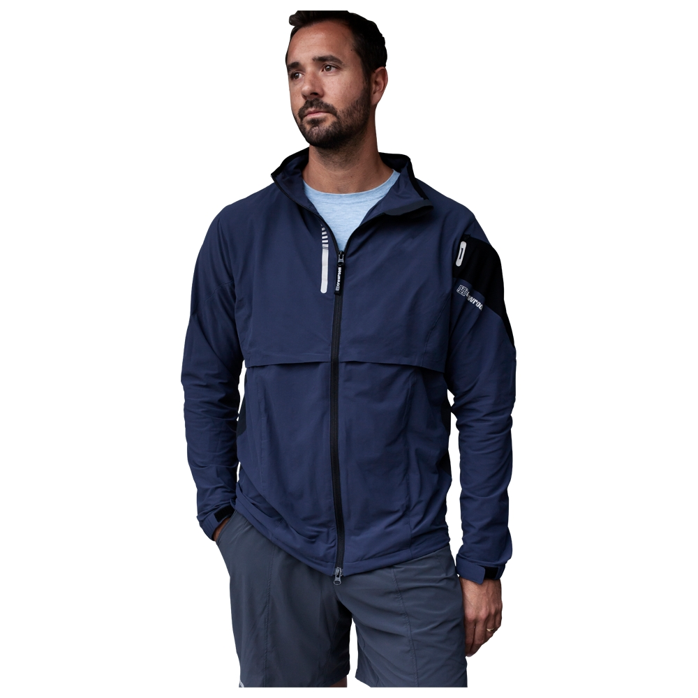 Mens The Circumvent Jacket (Slate Blue/Soot)
