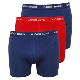 27beb1da Mens Seasonal Solid Boxers (3 Pack - Blue Depths)