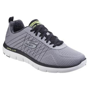 Skechers Flex Advantage 2.0, Men Outdoor Multisport Shoes, Grey (Light GreyBlack), 43 EU (9 UK)