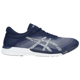 0bb0f36b1ff Mens fuzeX Rush Shoes (Indigo Blue/Silver/White)