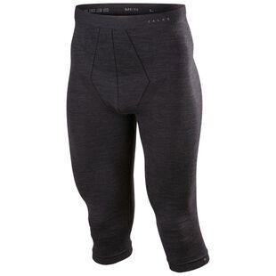 c11582942dd Mens Ski Wool Technical 3 4 Tights (Black)