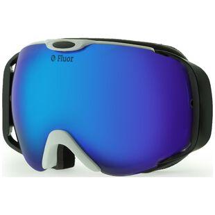 553e3f172ce Teknic. Fluor HX012 Ski Goggles (White Blue)