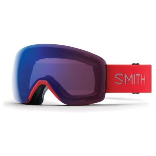 902e662c74c Smith Optics. Skyline Goggles (Rise ChromaPop Photochromic Rose Flash Lens)