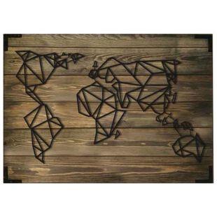 Oyo Concept World Map Wooden Wall Art | Sportpursuit.com