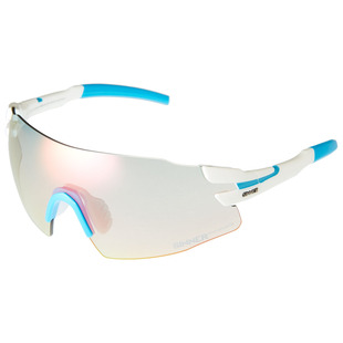 02f455460167 Prospects Multi Lens Sunglasses (White Matte Blue Red Trans)