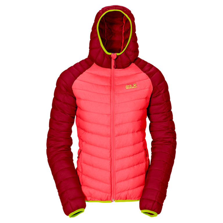 Jack Wolfskin Womens Zenon XT Jacket (Pale Cherry)   Sportpursuit
