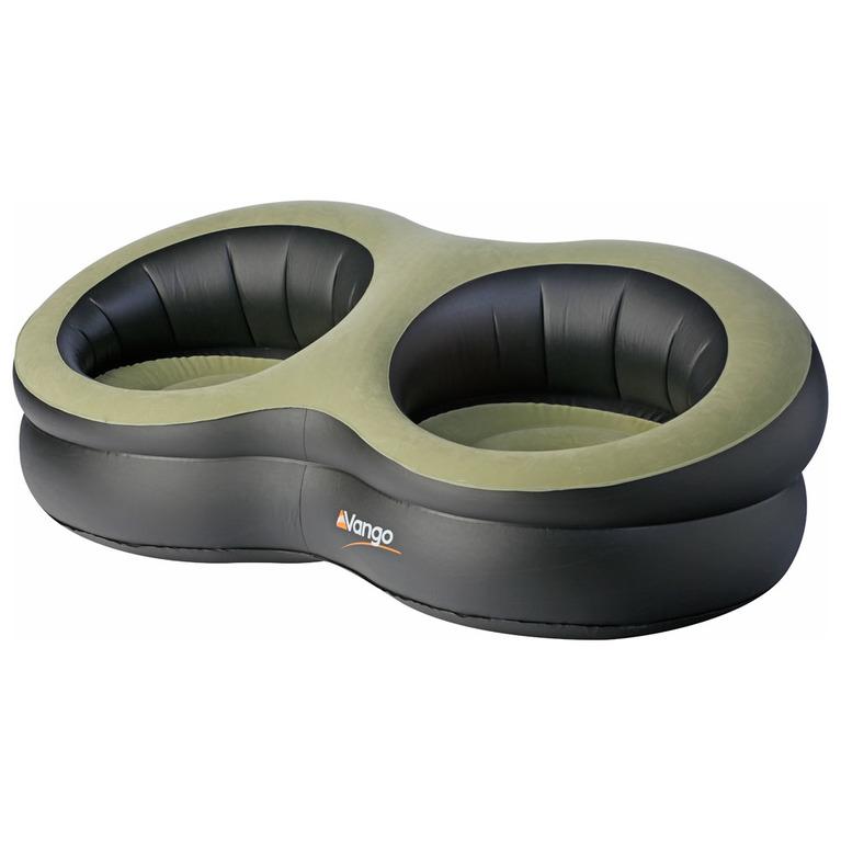 Vango double deluxe inflatable chair black sportpursuit com