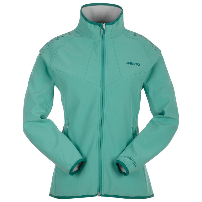 Musto Womens Evolution Soft Shell Jacket (Sea Green