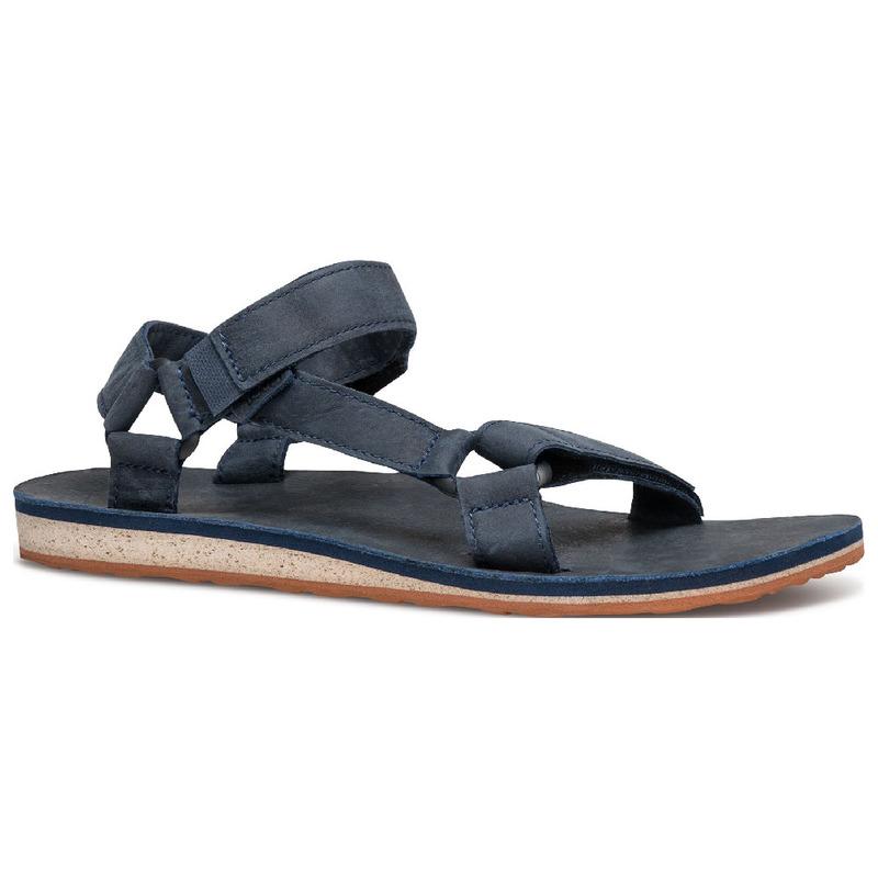 350c39847f46 Teva Mens Original Universal Premium Leather Sandals (Navy ...