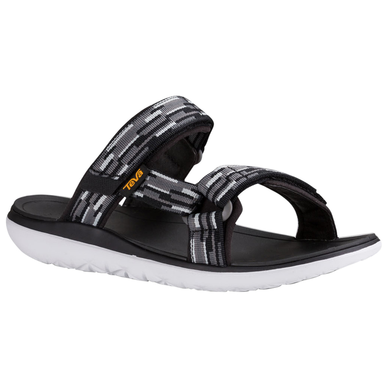 475101f9be0a8 Teva Mens Terra-Float Slide Sandals (Tacion Black Grey)