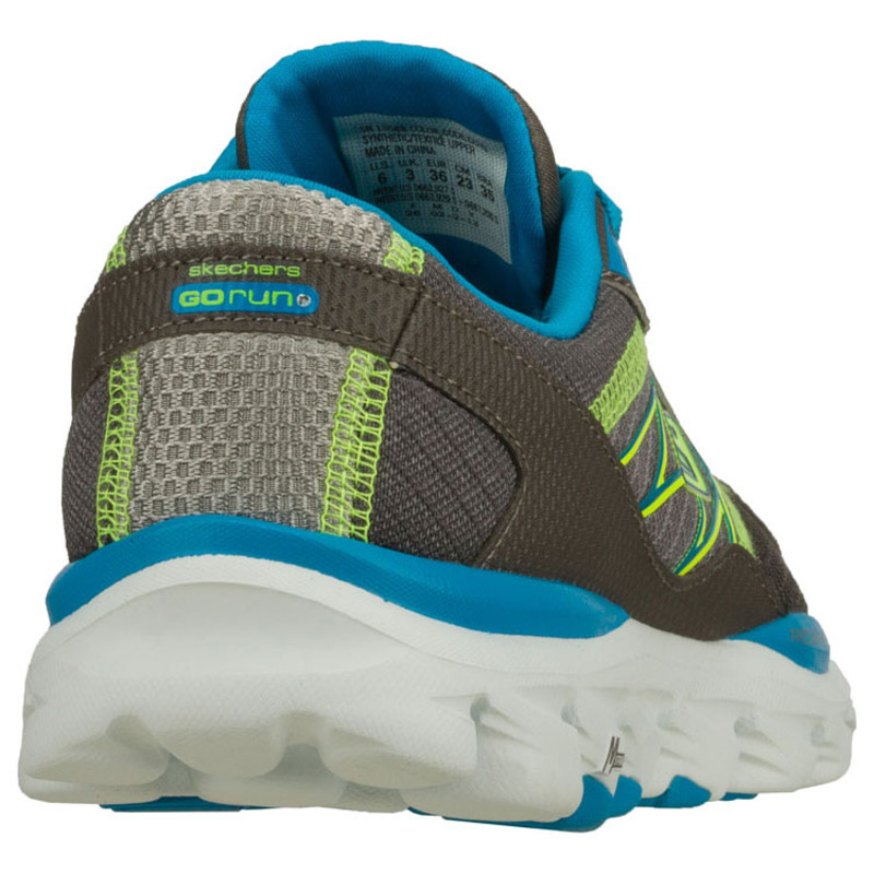 on feet images of new concept aliexpress Skechers Womens Go Run Ride 2 Shoes (Grey/Turquuoise ...
