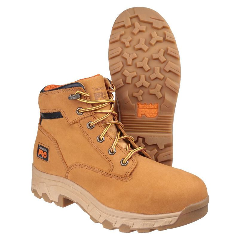 4153110a0e1 Timberland Mens Pro Workstead Lace Up Safety Boots (Wheat) | Sportpurs