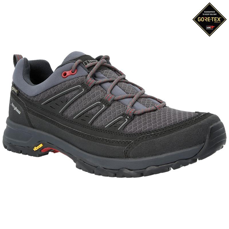 374c18ae3f1 Berghaus Mens Explorer Active GTX Shoes (Carbon/Red ...