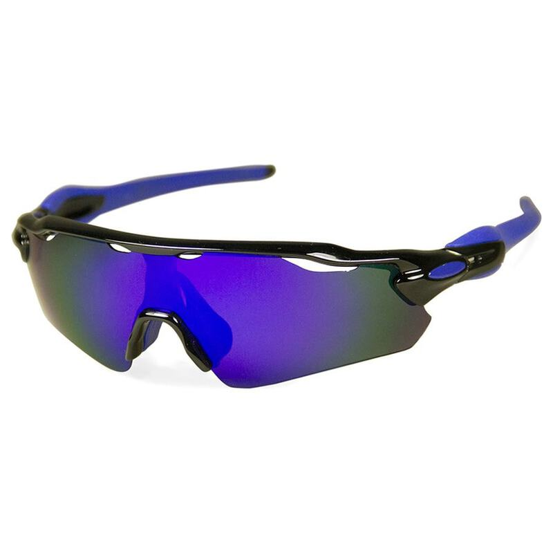 36530ccb51 Teknic Grand Tour Cycling Polarized Sunglasses (Black Multicolor Revo