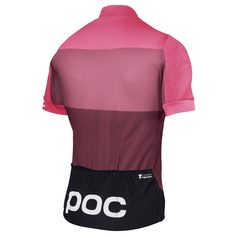POC Mens Fondo Light Jersey (Sulfate Multi Pink)  cd779d819