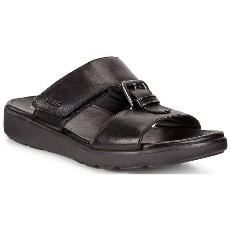 c6bbf47d77 Ecco Mens Gilson Sandals (Black Cow Leather) | Sportpursuit.com