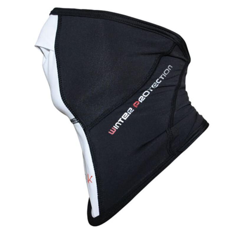 Bi-Bike Brushed Winter Face Mask (Black White)  d37450c0e4c